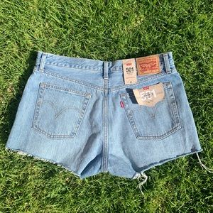 Levi's 501 Shorts NWT